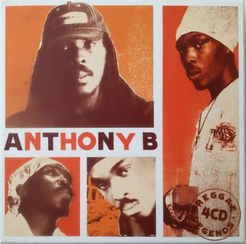Anthony B<br>Anthony B - Reggae Legends<br>4CD, Comp